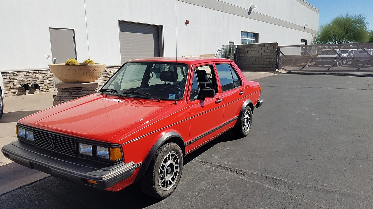 1984 Volkswagen Jetta GLI Sedan for sale 101010376