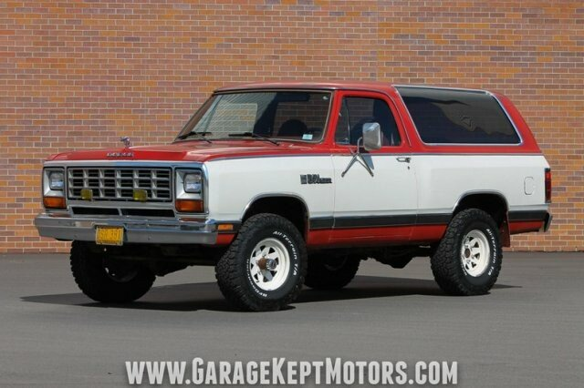 1980 ramcharger for sale