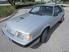 1984 ford Mustang SVO Hatchback for sale 101005194