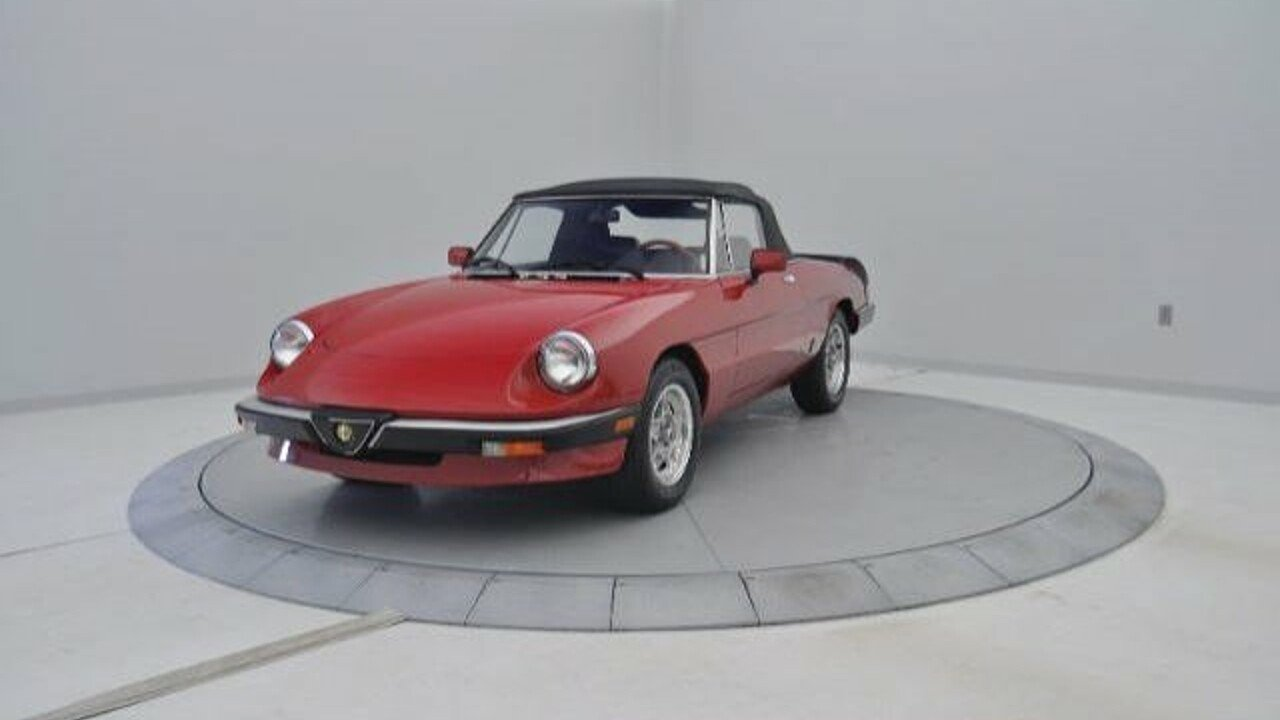 1985 Alfa Romeo Spider for sale 100732929