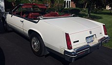 1985 Cadillac Eldorado Biarritz Convertible for sale 100778561