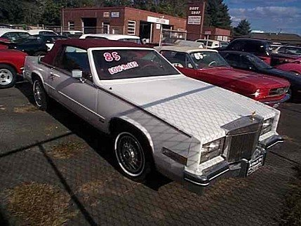 1985 Cadillac Eldorado for sale 100818505
