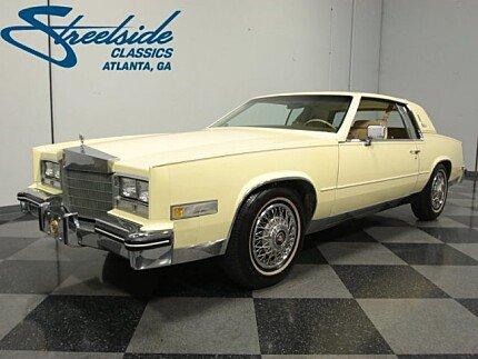 1985 Cadillac Eldorado Coupe for sale 100945590