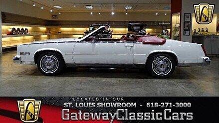 1985 Cadillac Eldorado Biarritz Convertible for sale 100977401