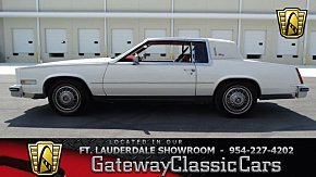 1985 Cadillac Eldorado Coupe for sale 100979903