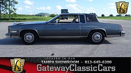 1985 Cadillac Eldorado Coupe for sale 101013305