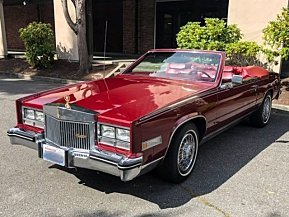 1985 Cadillac Eldorado for sale 101040219
