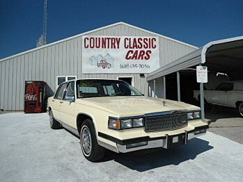 1985 Cadillac Fleetwood for sale 100748623