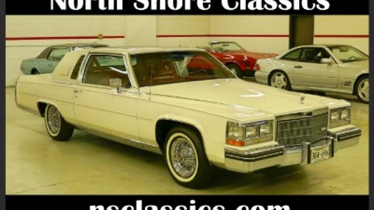 1985 Cadillac Fleetwood Brougham Coupe for sale 100881779