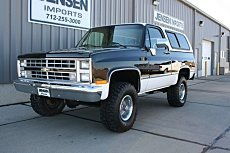 1985 Chevrolet Blazer 4WD for sale 100755975
