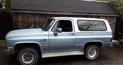 1985 Chevrolet Blazer 4WD for sale 100929085
