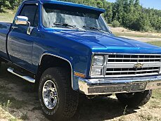 1985 Chevrolet C/K Truck 4x4 Regular Cab 2500 for sale 101005094