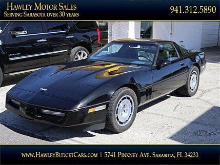 1985 Chevrolet Corvette Coupe for sale 100953285