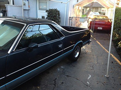 1985 Chevrolet El Camino V8 for sale 100986005
