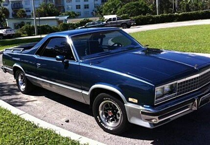 1985 Chevrolet El Camino for sale 100863757