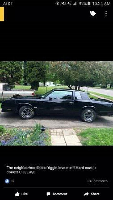 1985 Chevrolet Monte Carlo SS for sale 100776205