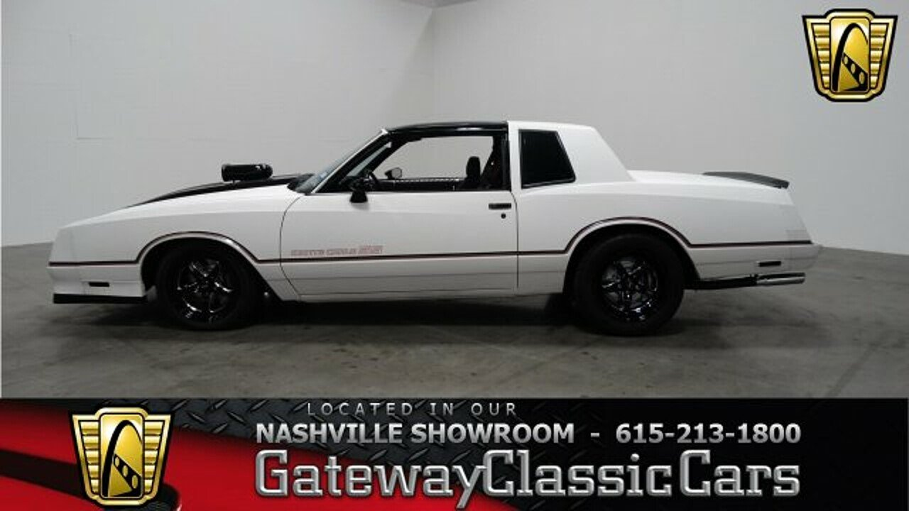 1985 Chevrolet Monte Carlo SS for sale 100949243