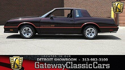 1985 Chevrolet Monte Carlo SS for sale 101002626