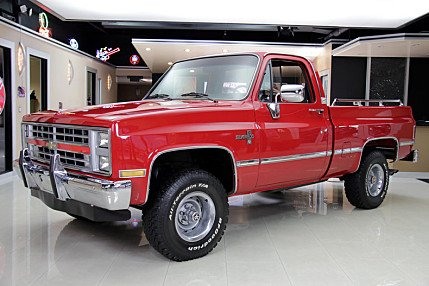 1985 Chevrolet Silverado and other C/K1500 4x4 Regular Cab for sale 100779291
