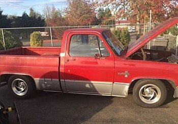 1985 Chevrolet Silverado and other C/K1500 2WD Regular Cab for sale 100829945