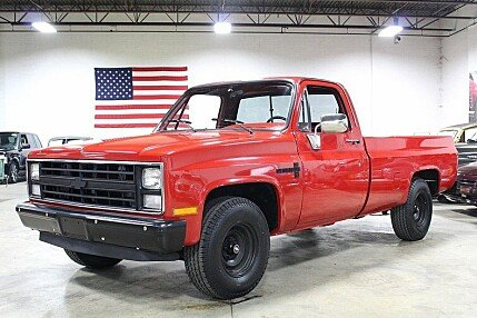 1985 Chevrolet Silverado and other C/K1500 2WD Regular Cab for sale 100874754