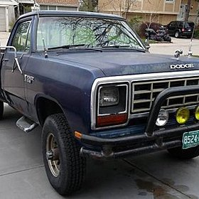 1985 Dodge D/W Truck 4x4 Regular Cab W-350 for sale 100802140