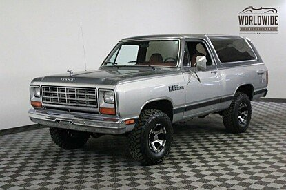 1985 Dodge Ramcharger AW 100 4WD for sale 100863183