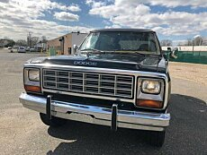 1985 Dodge Ramcharger AW 100 4WD for sale 100979413