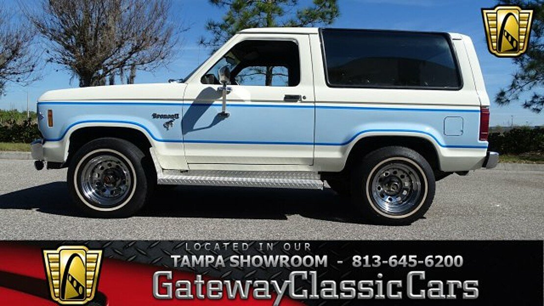 1985 Ford Bronco II 4WD for sale 100969001