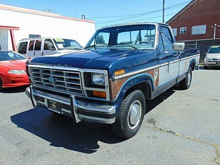 1985 Ford F150 2WD Regular Cab for sale 100760919