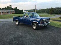 1985 Ford F150 2WD Regular Cab for sale 101027543