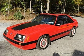 1985 Ford Mustang Hatchback for sale 100722303