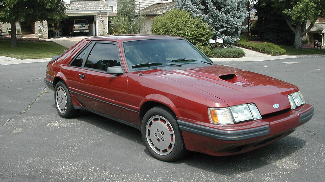 1985 ford mustang svo hatchback for sale near arvada. Black Bedroom Furniture Sets. Home Design Ideas