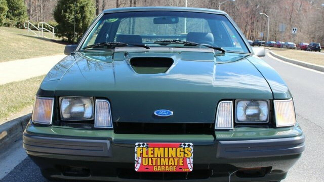 1985 Ford Mustang SVO Hatchback for sale near Rockville, Maryland ...