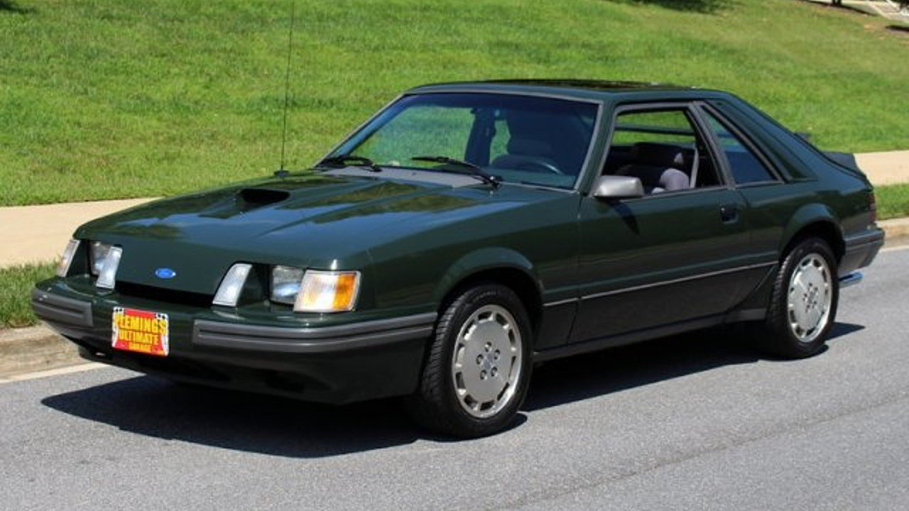 1985 ford mustang svo hatchback for sale near rockville. Black Bedroom Furniture Sets. Home Design Ideas