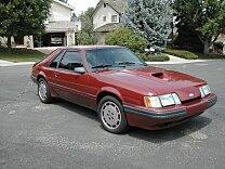 1985 Ford Mustang SVO Hatchback for sale 100891852