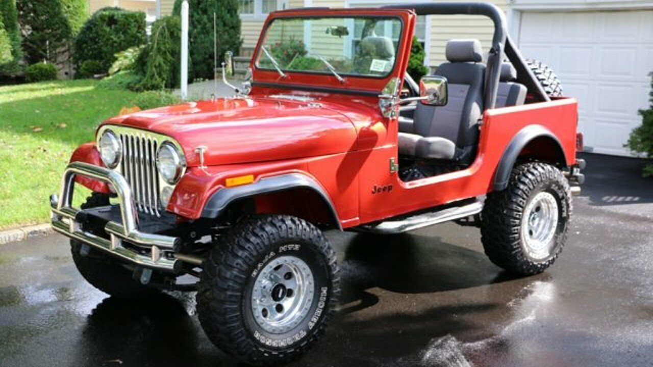 1985 Jeep CJ 7 for sale 101040279
