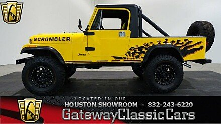 1985 Jeep Scrambler for sale 100920570