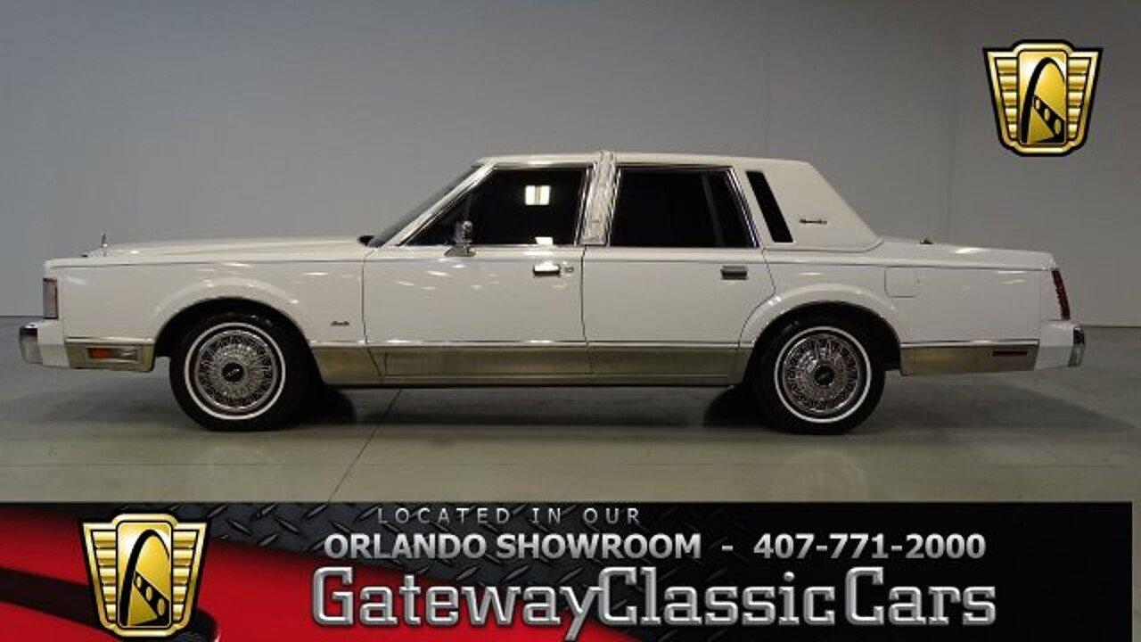 1985 Lincoln Town Car for sale near O Fallon, Illinois 62269 ...