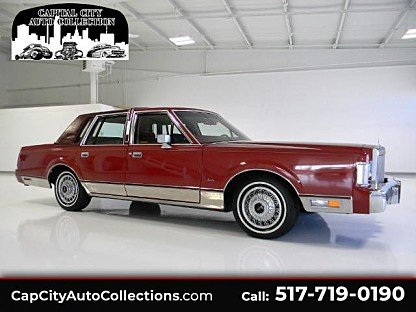 1985 Lincoln Town Car Classics For Sale Classics On Autotrader