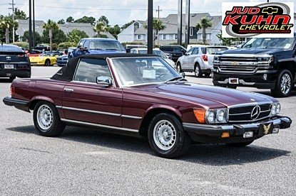 1985 Mercedes-Benz 380SL for sale 100772303