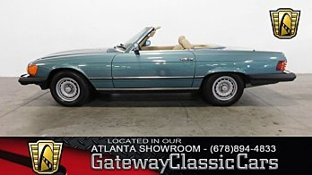 1985 Mercedes-Benz 380SL for sale 100881817