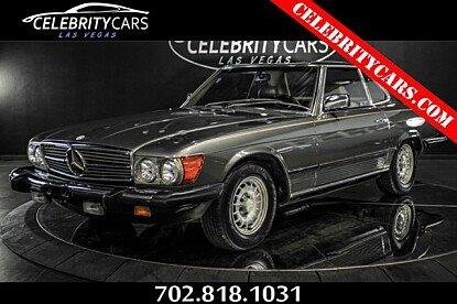 1985 Mercedes-Benz 380SL for sale 100978395