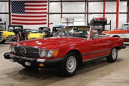 1985 Mercedes-Benz 380SL for sale 101020698