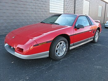 1985 Pontiac Fiero GT for sale 100733629