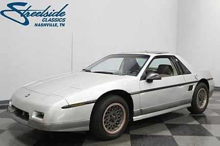 1985 Pontiac Fiero GT for sale 100980971