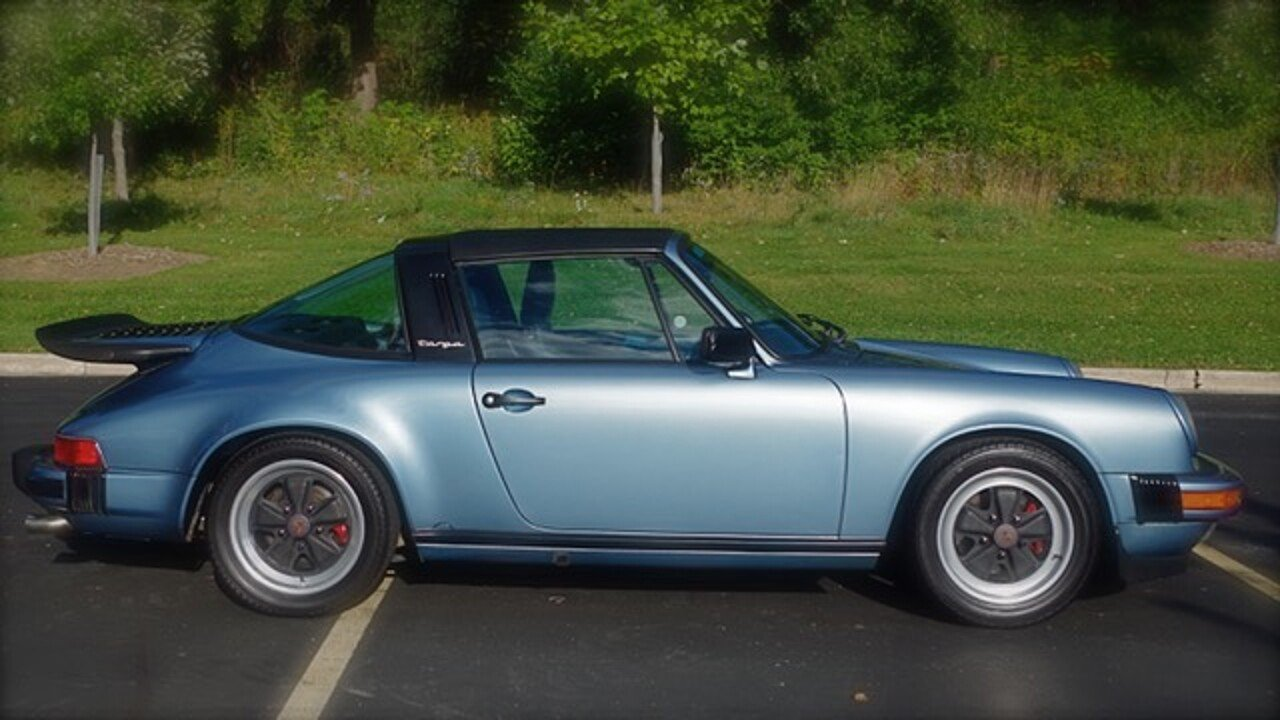 1985 Porsche 911 Targa for sale near Downers Grove, Illinois 60515