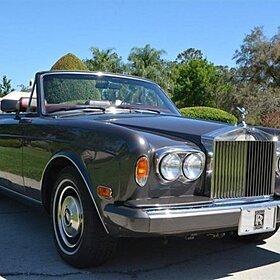 1985 Rolls-Royce Corniche for sale 100884794