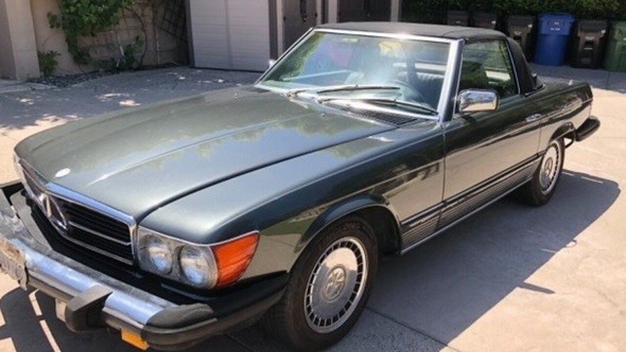 1985 mercedes-benz 280SL for sale 100992695