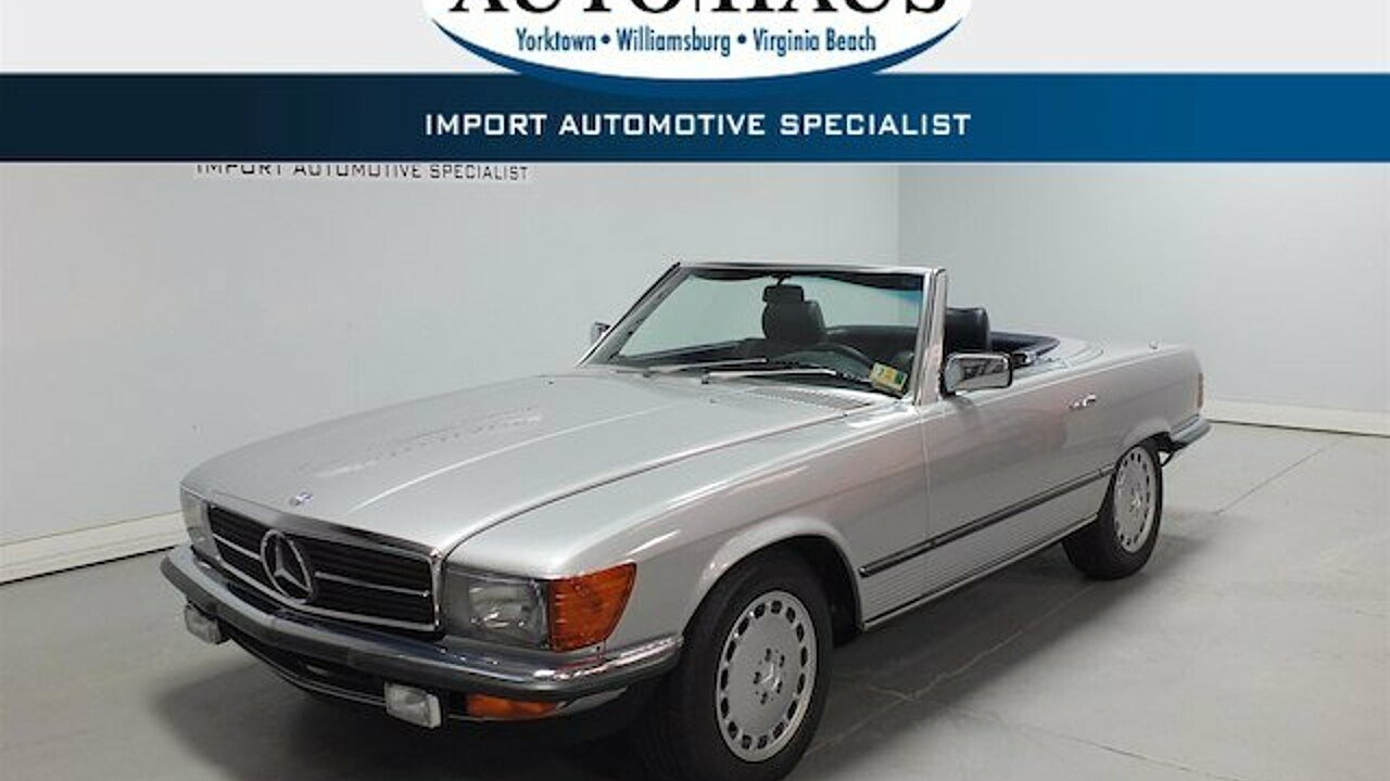 1985 mercedes-benz 280SL for sale 101023386